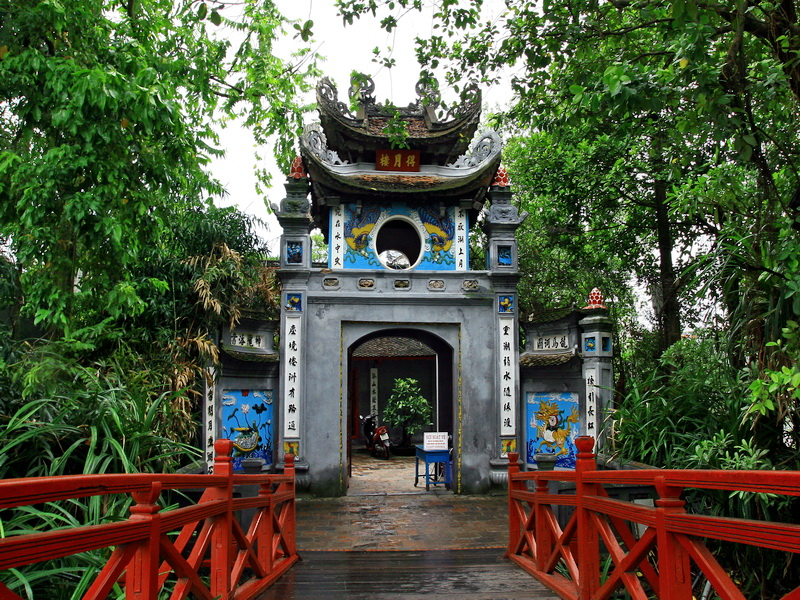 Le temple de Ngoc Son